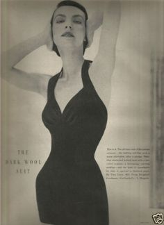 40s-Vintage-Tina-Leser-Swimsuit-The-Dark-Wool-Suit-Editorial-1949