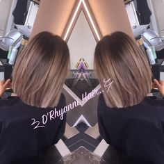 Blunt cut lob with bayalage .we love this Blunt cut lob with bayalage .we love this Luxy Hair, Ombré Hair, Hair Dos, Medium Hair Cuts, Medium Hair Styles, Short Hair Styles, Blunt Haircut Medium, Blunt Lob, Blunt Cuts