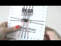 ▶ Abalorios DIY - Pulsera con Corazones ( Disco Kumihimo ) - YouTube