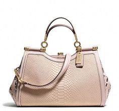 Coach Madison Python Embossed Leather Pinnacle Carrie Satchel Blush Coach http://www.amazon.com/dp/B00PKJPFNS/ref=cm_sw_r_pi_dp_8m9zub05GMHCJ