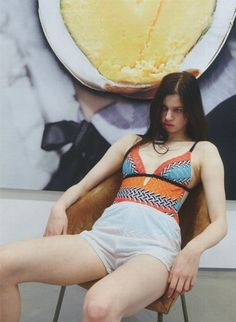 sfilate:  Lily McMenamy photographed by Juergen Teller for LOVE #11S/S 2014