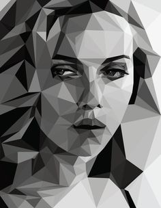 Scarlett Johansson by Erica Cotten