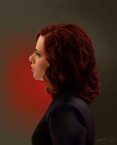 Natasha Romanoff (Black Widow) - fan art by thetuxedos