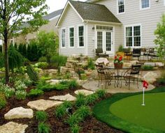 "Greenscapes Landscape in Columbus created the perfect patio for someone who loves to ""putter"" around the backyard! #housetrends, http://www.greenscapes.net/"