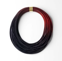 Gilly Langton, Heather Coil Necklace