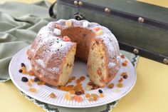 Sarokkonyha: Aszalt gyümölcsös kuglóf Ring Cake, Savarin, Scones, Fondant, French Toast, Cookies, Baking, Breakfast, Pound Cakes