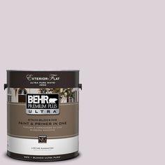 BEHR Premium Plus Ultra 1-Gal. #UL250-14 Mystic Fairy Flat Exterior Paint
