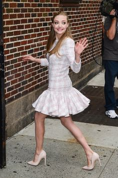 Amanda Seyfried Gets Lovely For a Lovelace Press Day in NYC: Amanda Seyfried made a stop by the Late Show With David Letterman in NYC.