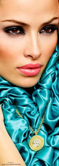 Photo Album in {Turquoise} Shades Of Turquoise, Turquoise Color, Shades Of Blue, Color Turquesa, Color Azul, Pierre Turquoise, Turquoise Fashion, Tiffany Blue, Colorful Fashion