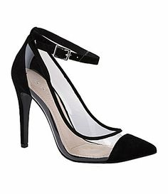 Today's So Shoe Me is the Cynthia Pump by BCBGeneration, $89, available at Nordstrom. The little black pump just got a little better with clear sides and a pointed cap toe for a modern design at a digit less than its designer competition.