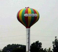 Beach Ball  Water Tower