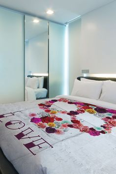 "Oliver Gal by One Bella Casa ""Bed of Roses"" Duvet Cover <3"