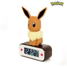 Eevee Light-up figurine Alarm Clock Night Light, Light Up, Usb, Pokemon Eevee, Alarm Clock, Liberty, Room Ideas, Range