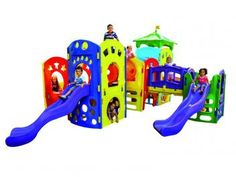 Escorregador Playground Modular Advanced - Xalingo