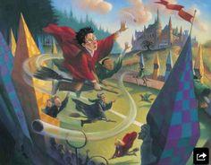 Beautiful HP illustration