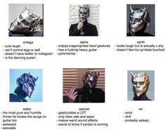 Our most precious Nameless Ghouls!!  I just lost it at ' probably asleep' XD