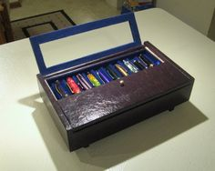 Another cigar-box based, decoupage pen case - Paper and Pen Paraphernalia - The Fountain Pen Network