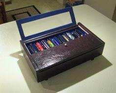 Another cigar-box based, decoupage pen case - Paper and Pen Paraphernalia - The Fountain Pen Network