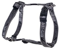 Rogz Fancy Dress Extra Large 1' Armed Response Adjustable Fashion Dog H-Harness, Silver Gecko Design >>> Want additional info? Click on the image.
