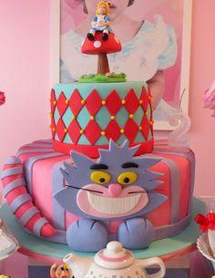 Decoração para Festa Infantil Alice no País das Maravilhas