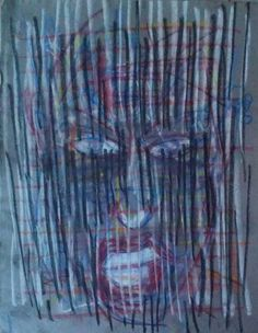Teeth by Ivica Capan - TRiCERA Big Hair, Teeth, Original Artwork, Contemporary Art, News, Artist, Painting, Long Hair, Artists