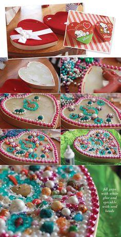 Jambalaya Boxes   And by jewelry, I mean beads.     Lots of beads.    Hippy Ti Yo beads!