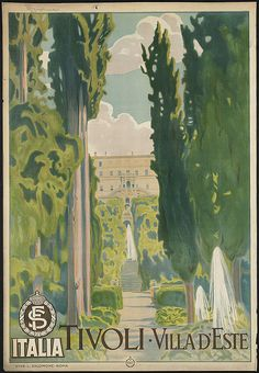 Title: Tivoli. Villa d'Este    Created/Published: Roma [Rome] : Stab. L. Salomone    Date issued: 1910-1959 (approximate)
