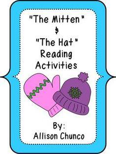 The Mitten & The Hat Reading Activities $5