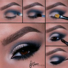 Motives by Loren Ridinger is a trusted name in makeup, skin care, and body care. Shop securely online for your favorite cosmetics and beauty products. Cute Eye Makeup, Creative Eye Makeup, Eye Makeup Steps, Makeup Eye Looks, Beautiful Eye Makeup, Smokey Eye Makeup, Skin Makeup, Eyeshadow Makeup, Smoky Eye Makeup Tutorial