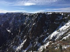 Black Canyon of the Gunnison National Park || Click on the photo to discover the most incredible destinations with us :)