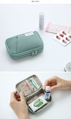 Pocket Daily Handy Pouch / Medicine Pouch / Travel Pouch / Camera Case/ Makeup Pouch / Zipper Pouch / Makeup Bag / Office, School Supplies - Priscila - Make-Up Packing Tips For Travel, Travel Bags, Travel Luggage, Travel Essentials, Travel Ideas, Travel Pouches, Packing Cubes, Travel Checklist, Travel Stuff