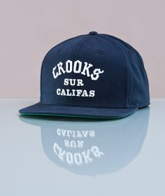 Crooks & Castles-Sur Califas Snapback Dark Navy
