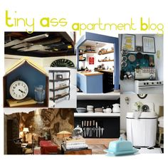 """HOME SITE: """"Tiny Ass Apartment"""" This site collects cool pictures, designs, and items for living in small quarters"""