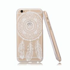 Amazon.com: iPhone 6 Case, Hundromi(TM) Plastic Case Cover for Iphone 6 Henna White Floral Paisley Flower Mandala (For iphone 6 4.7 inch Screen): Electronics