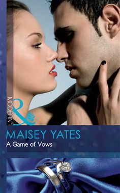 Buy A Game of Vows (Mills & Boon Modern) by Maisey Yates and Read this Book on Kobo's Free Apps. Discover Kobo's Vast Collection of Ebooks and Audiobooks Today - Over 4 Million Titles! Romance Novel Covers, Romance Novels, Trophy Wife, Kindle, Modern, Contemporary, October 1, Missing Piece, Library Ideas