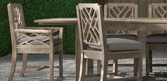 1000 images about outdoor tables on pinterest for Restoration hardware teak outdoor furniture
