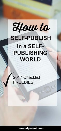 Do want to self-publ