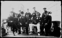 THOMAS ALVA EDISON   SIR THOMAS LIPTON  1905