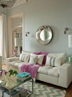 43 Best Green grey pink living room images in 2016 | Home decor ...