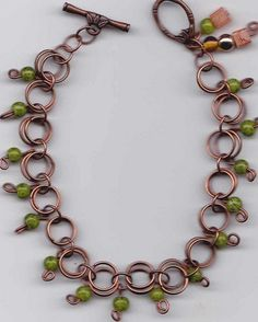 Copper With A Touch of Green (Customer Design) - Lima Beads