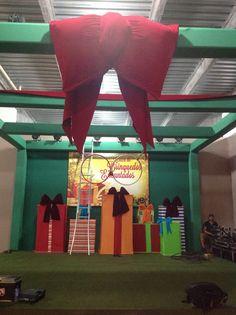 Cenário Natal Shopping JK