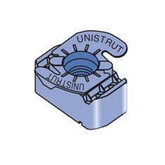 Unistrut P1008T, P1010T & P4010T Top Grip Retainer Nut. Eberl Iron Works, Inc. is a distributor of the Unistrut Metal Framing System.