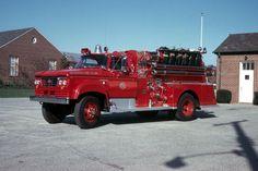 1964 Dodge W500 Power Wagon Maxim Fire Truck...