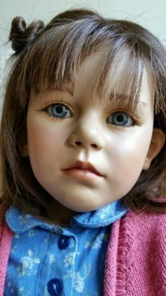 Annette-Himstedt-doll-29-inch-vinyl-and-cloth-signed-clean-euc