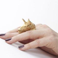 Unicorn Ring (Yellow)