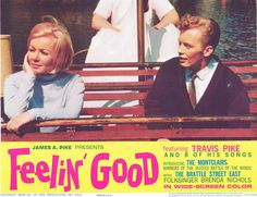 """Psychedelic palette appears in Travis Pike's """"I Beg Your Pardon"""" Swan Boat sequence in 1966 movie, FEELIN' GOOD"""
