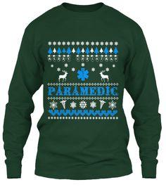 Uglysweater-style printed tee  Paramedic