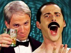 Frank Sinatra vs Freddie Mercury - Epic Rap Battles of History Season 2. This is the best thing ever.