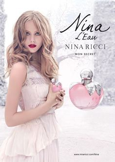 Nina Ricci - Nina Ricci Nina L'eau Fragrance S/S 13 by Eugenio Recuenco  #fashion #models #FridaGustavsson