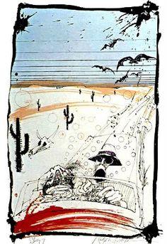 Ralph Steadman 'Fear and Loathing in Las Vegas'